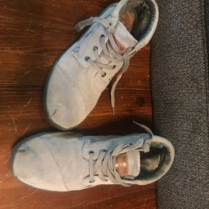 Tom's Grey Suede Men's Shoe